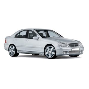 CARPOL taxi safety screen for Mercedes C Class W203