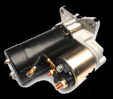 electric starter motor repairs
