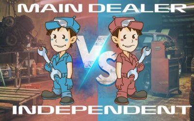 Independent Repair Specialist VS Main Dealer
