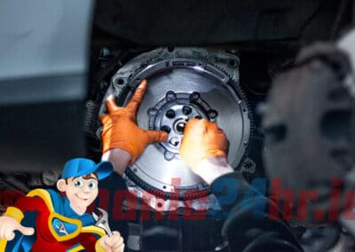 Clutch replacement (2 of 4)