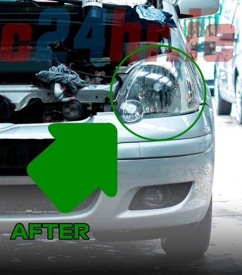 headlights restoration after