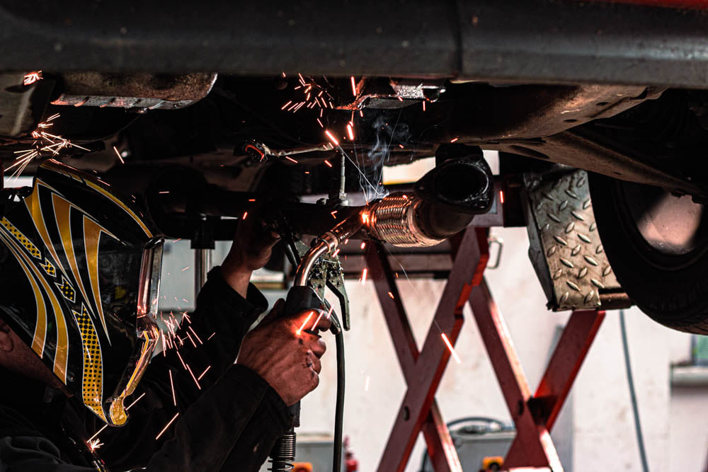 exhausts repairs and welding